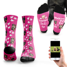 Walking Dog Socks