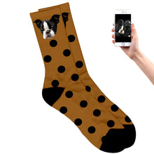 Dotted Dog Socks