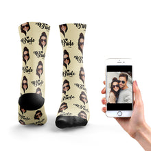 Bride To Be Photo Socks