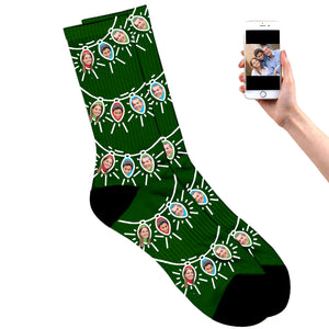 Christmas Light Socks