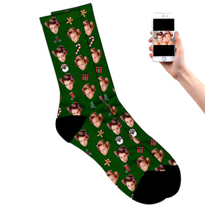 Festive Christmas Socks