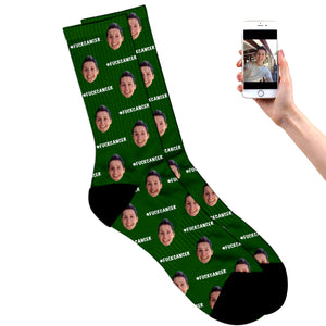 Fuck Cancer Socks
