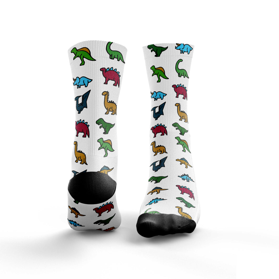 Dinosaur Colour Icon Socks
