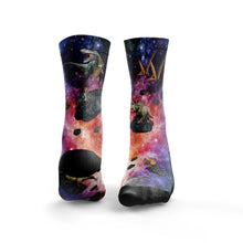 Dinosaurs In Space Socks