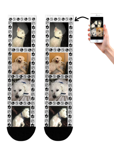 Dog Collage Socks
