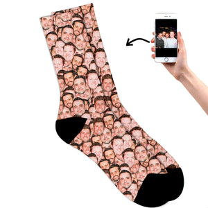 Friends Multi Face Socks