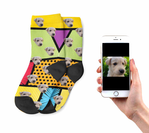 Kids Funky Dog Socks