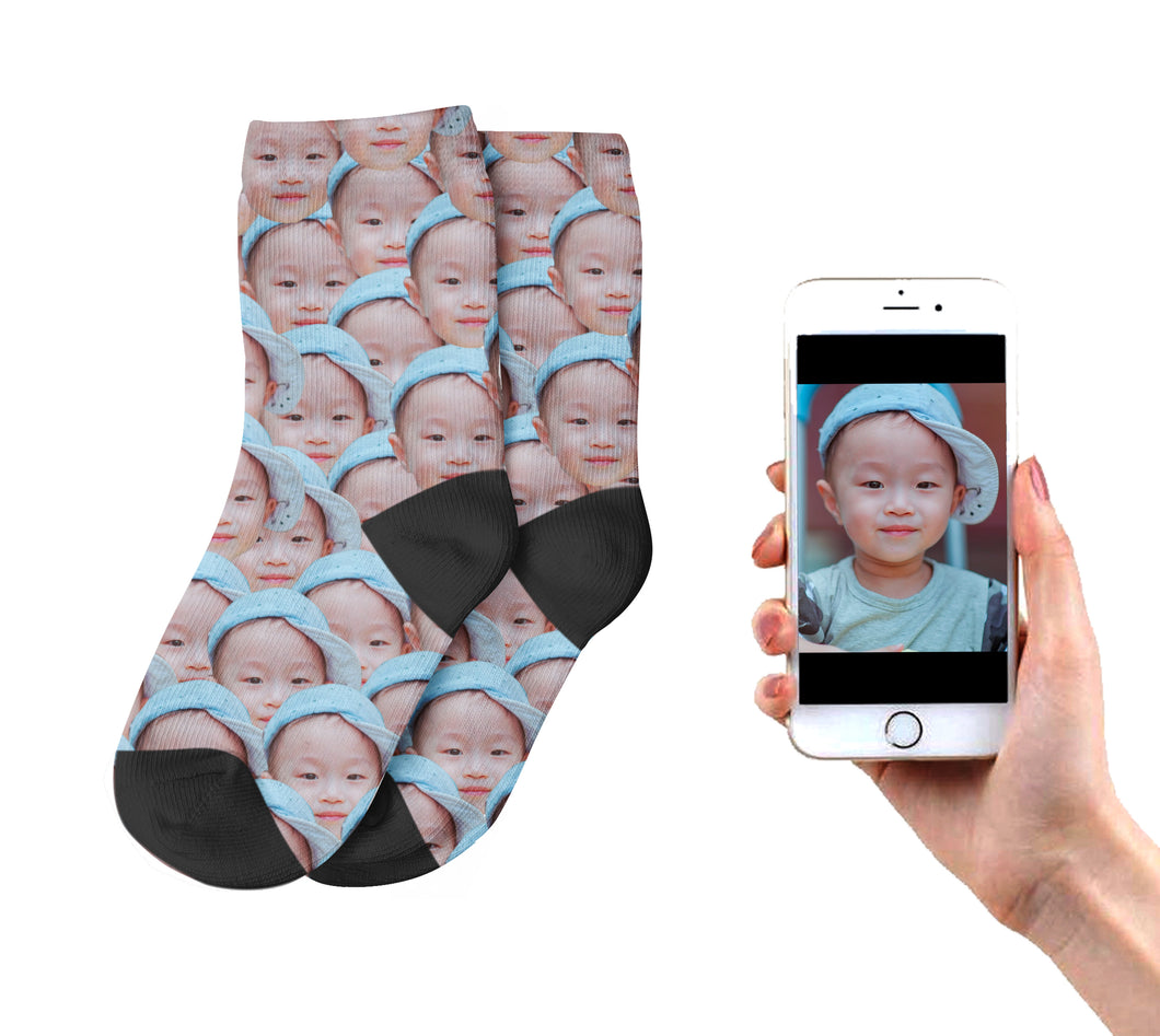 Kids Multi Face Socks