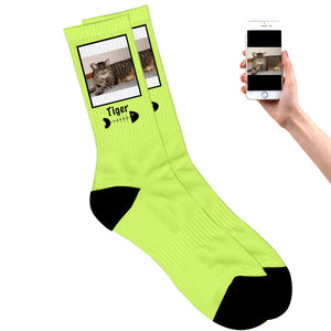 Cat Photo Socks
