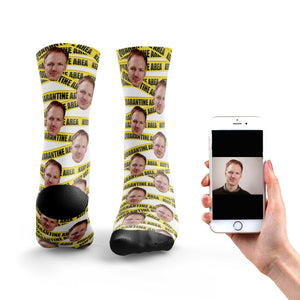 Quarantine Tape Socks