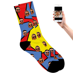 Retro Couples Socks