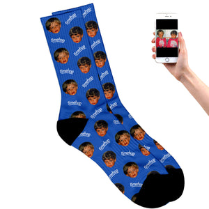 Turn Back Time Socks