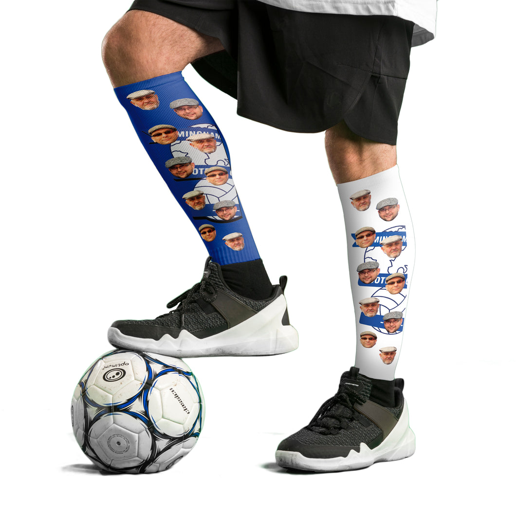 Birmingham City FC Football Socks