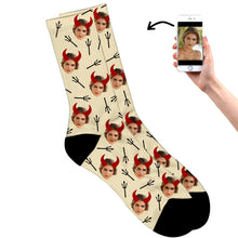 Personalized Devil Socks