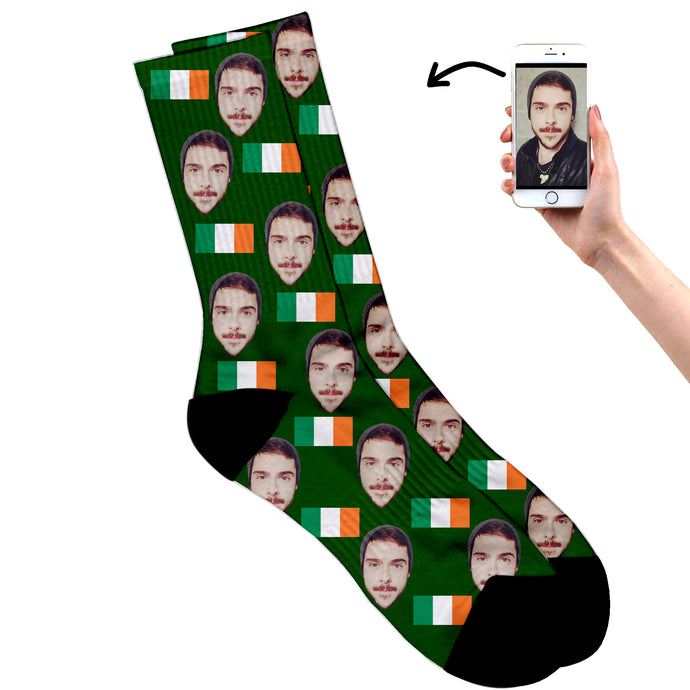 Irish Face Socks