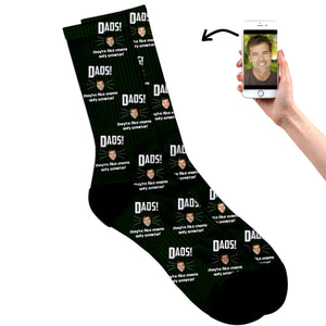 Dad's Like Mom Only Smarter Socks