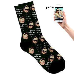 Mother's Day Socks - I Got It From My Momma