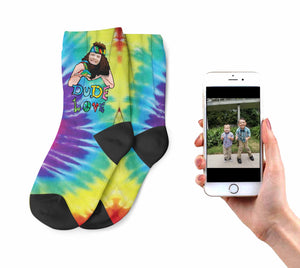 Kids Dude Love Socks