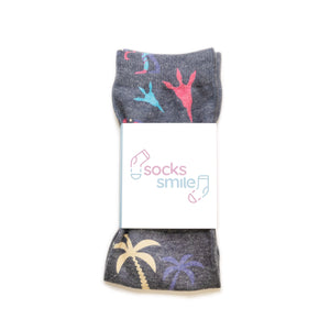 Stylised Dinosaur Socks