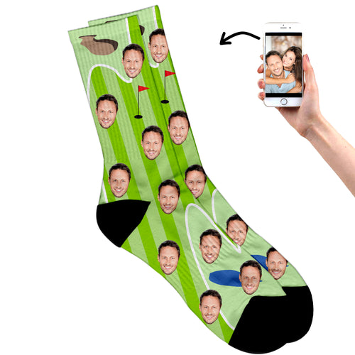 Personalised Golf Socks For Dad