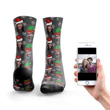 Couples Christmas Socks