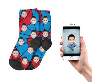 Kids Spiderman Socks