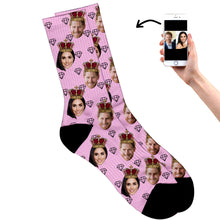 King and Queen Socks