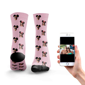 Mickey and Minnie Socks