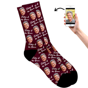 Father Of The Groom Socks
