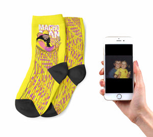 Kids Macho Man Socks
