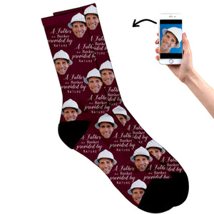 Dad's A Banker Socks