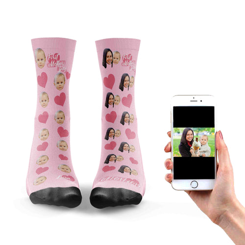 First Mothers Day Girl Socks