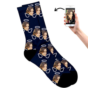 Personalized Angel Socks