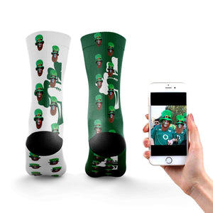 Personalised Ireland Rugby Socks