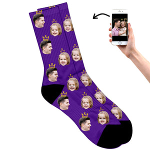 King and Princess Socks