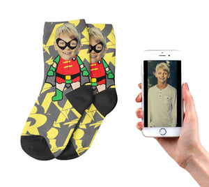 Kids Robin Socks