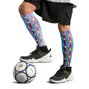 Aston Villa Football Socks