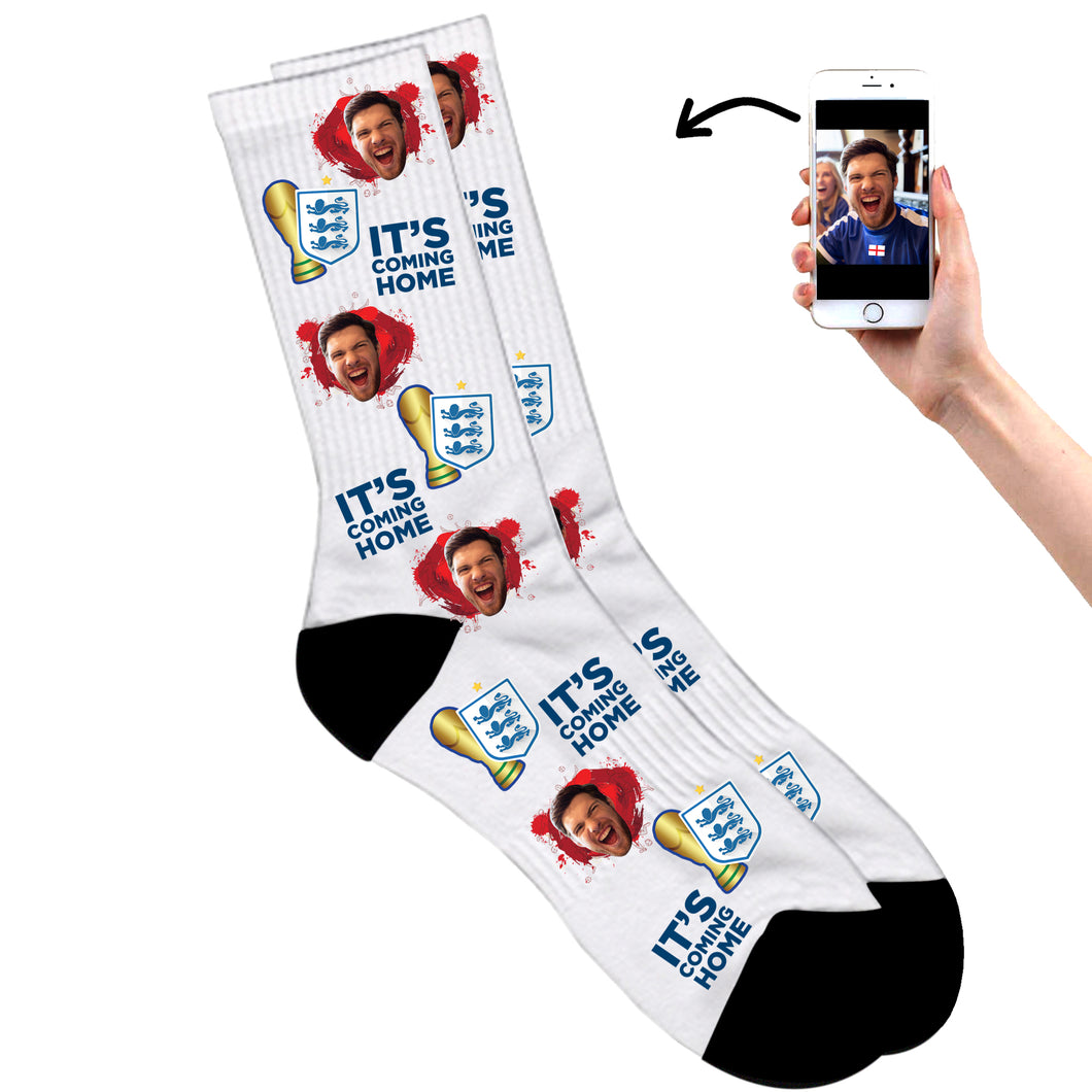England Football Socks