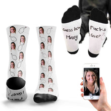 Personalised Don't Give a F*ck Socks