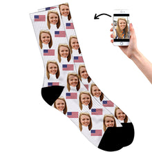 United States Face Socks