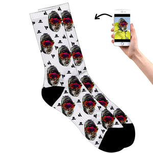 Personalised Snowboard Socks