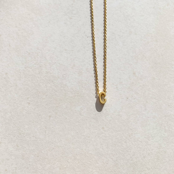 Letter Necklace - C