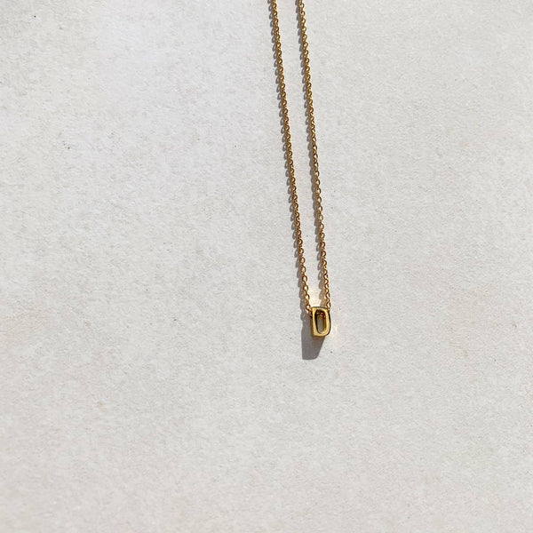 Letter Necklace - D