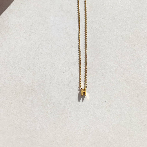Letter Necklace - H