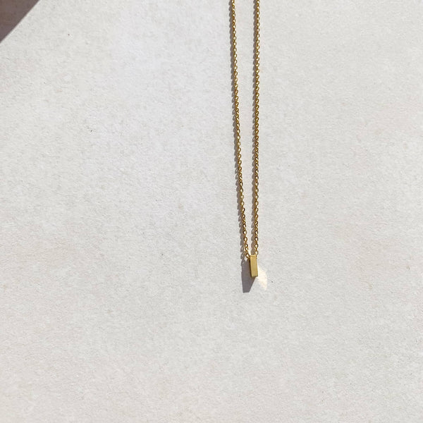 Letter Necklace - I