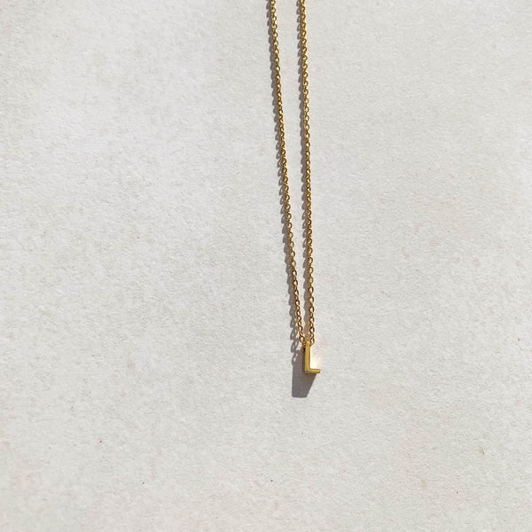 Letter Necklace - L
