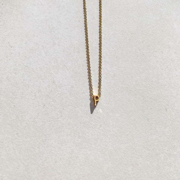 Letter Necklace - P