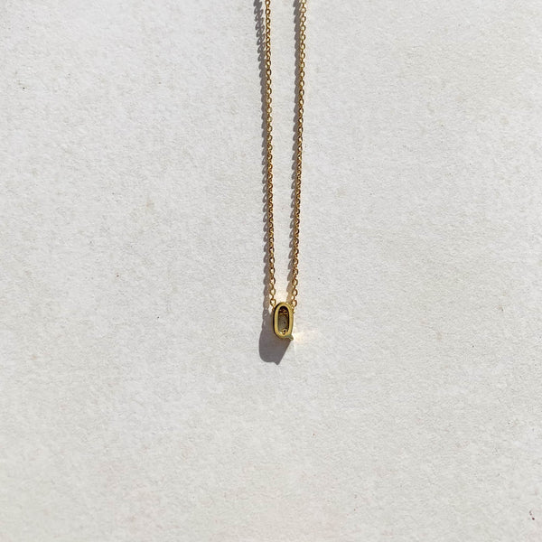 Letter Necklace - Q