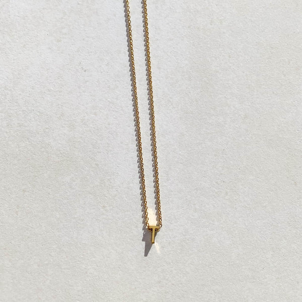 Letter Necklace - T