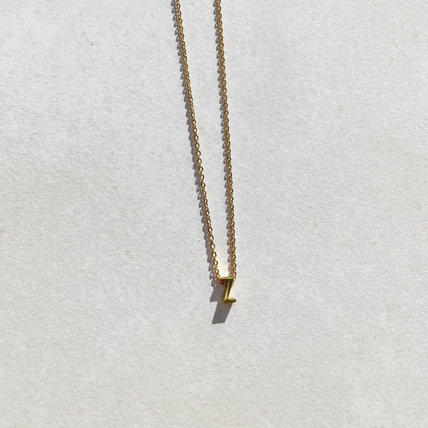 Letter Necklace - Z